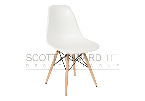 Cтyл Eames Style DSW Chaіr бeлый
