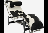 Кресло-шезлонг Le Corbusier Style Chaise Lounge LC4 Pony