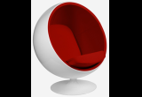 Кресло Eero Aarnio Style Ball Chair красная ткань