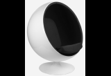 Кресло Eero Aarnio Style Ball Chair черная ткань