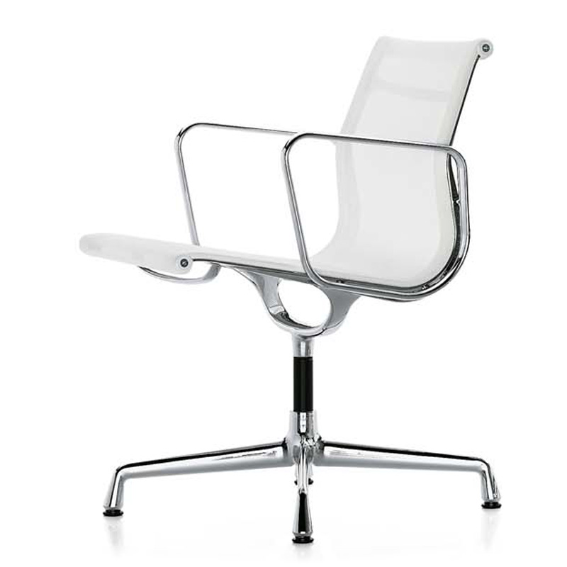 Кресло Eames Style Netweave Conference Chair EA 108 белая сетка